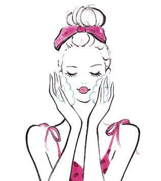 洗顔の使い方